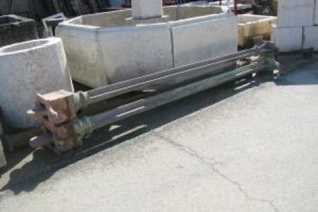pilier en fonte