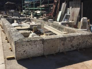 grand bassin en pierre