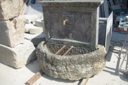 realisation d'une fontaine