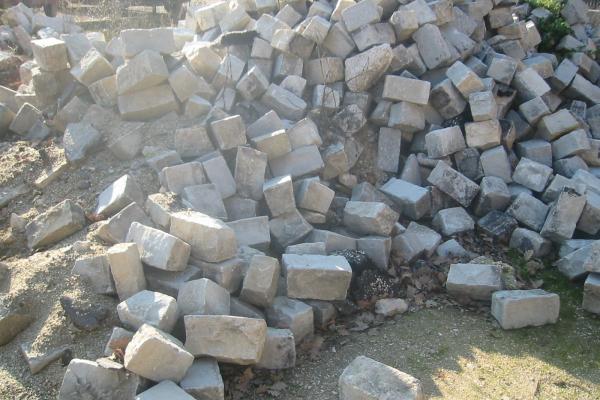 Pavé en pierre