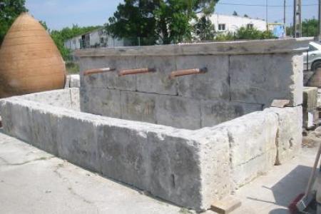 fontaine en pierre /vendue
