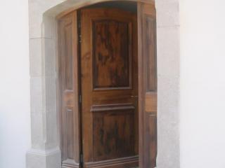 fabrication d'entourage de porte en pierre